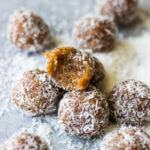 3-Ingredient Coconut Date Bites