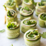 Ham and Cheese Cucumber Roll Ups + GIVEAWAY