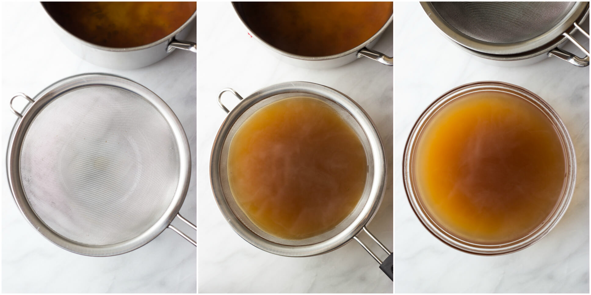 How to Make Vegetable Broth with Kitchen Scraps - homemade vegetable broth has never been easier! Save your scraps and make a broth | littlebroken.com @littlebroken