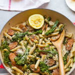 Chicken Sausage and Broccolini Pasta (7-Ingredients)