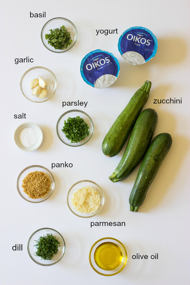 Roasted Parmesan Zucchini with Yogurt Dill Dip - roasted zucchini with crunchy Parmesan topping and creamy yogurt dill dip | littlebroken.com @littlebroken