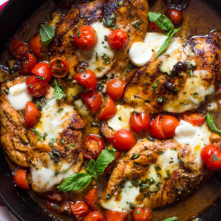 One Pan Balsamic Chicken