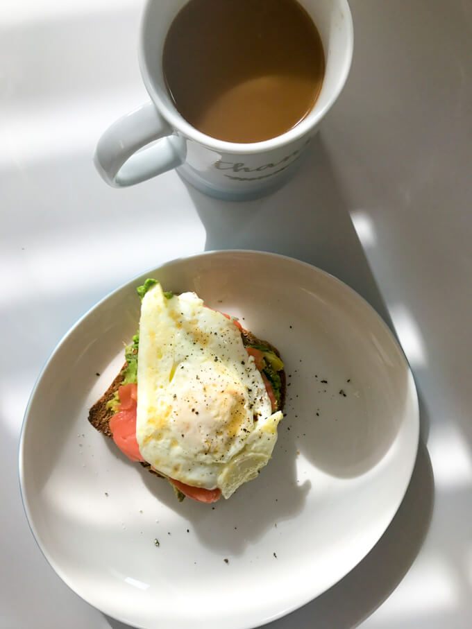 What I Ate Wednesday - Postpartum food diary documenting what I eat in a day. Simple, quick, and healthy! @littlebroken