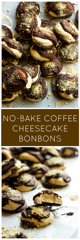 No bake coffee cheesecake bites !   littlebroken.com @littlebroken
