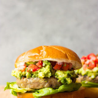 Jalapeno Turkey Burgers with Guacamole - so easy, so tender, so healthy, and the BEST burger ever | littlebroken.com @littlebroken