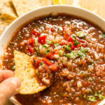 canned fire roasted salsa recipe