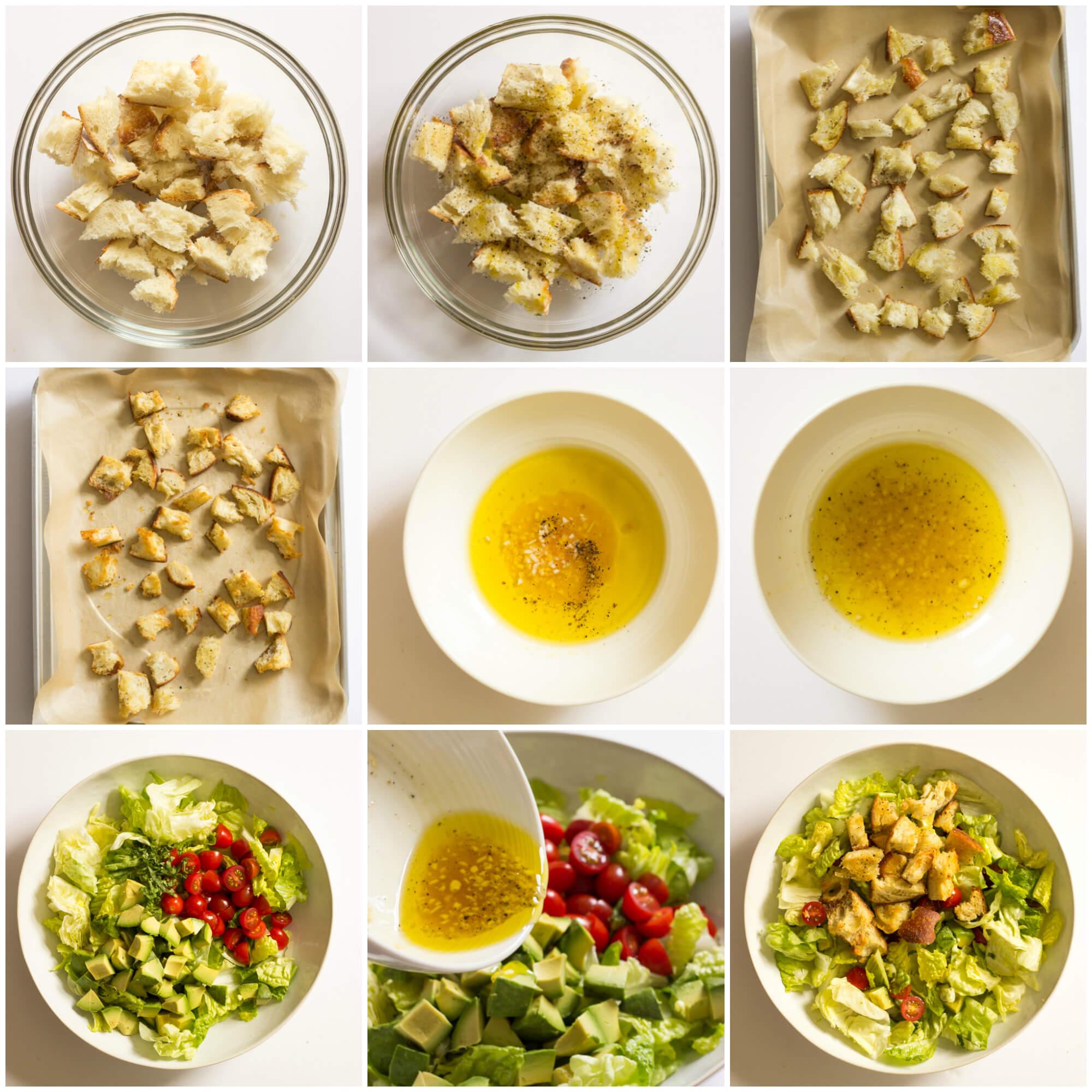 Avocado Toast Salad - just like an avocado toast but in a salad form! | littlebroken.com @littlebroken