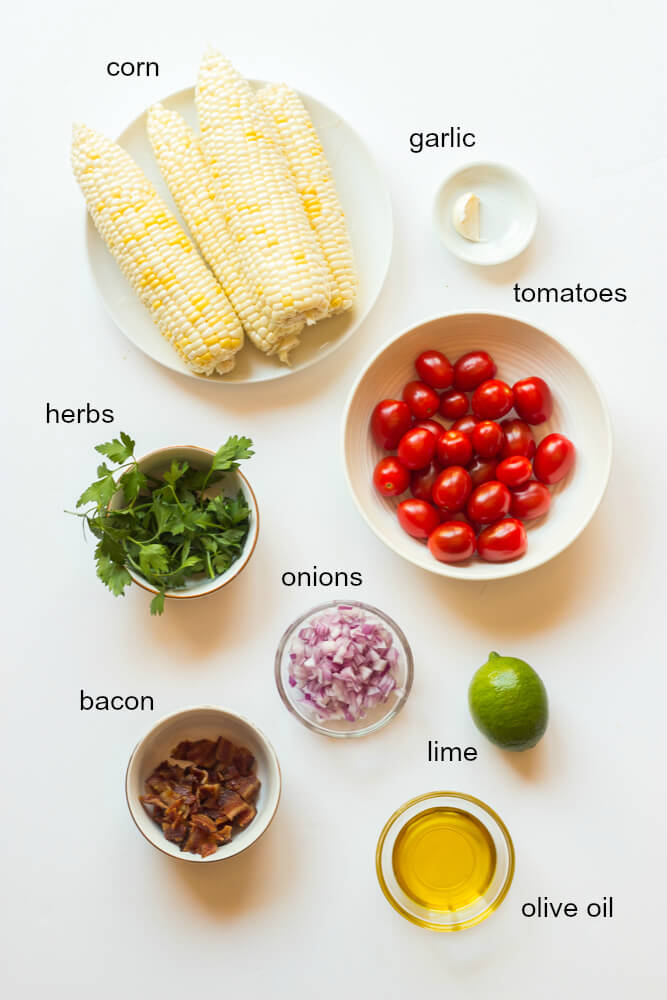 Mexican Corn Salad with Lime Dressing - the best summer corn salad to make! | littlebroken.com @littlebroken
