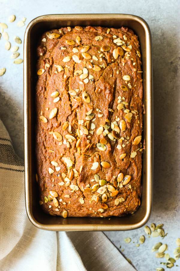 Healthy Pumpkin Bread Recipe No White Sugar Or Flour Little Broken