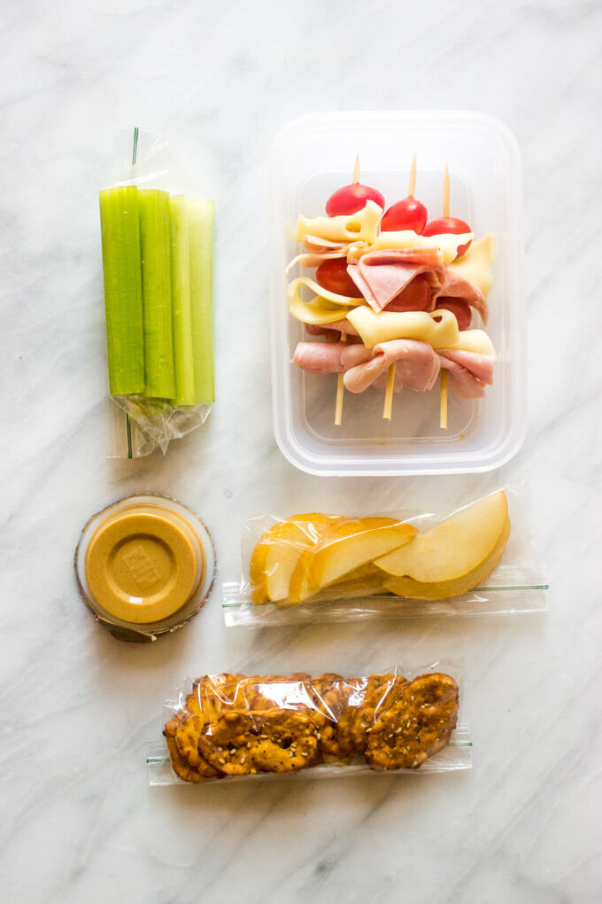 Sample lunch idea to pack for school