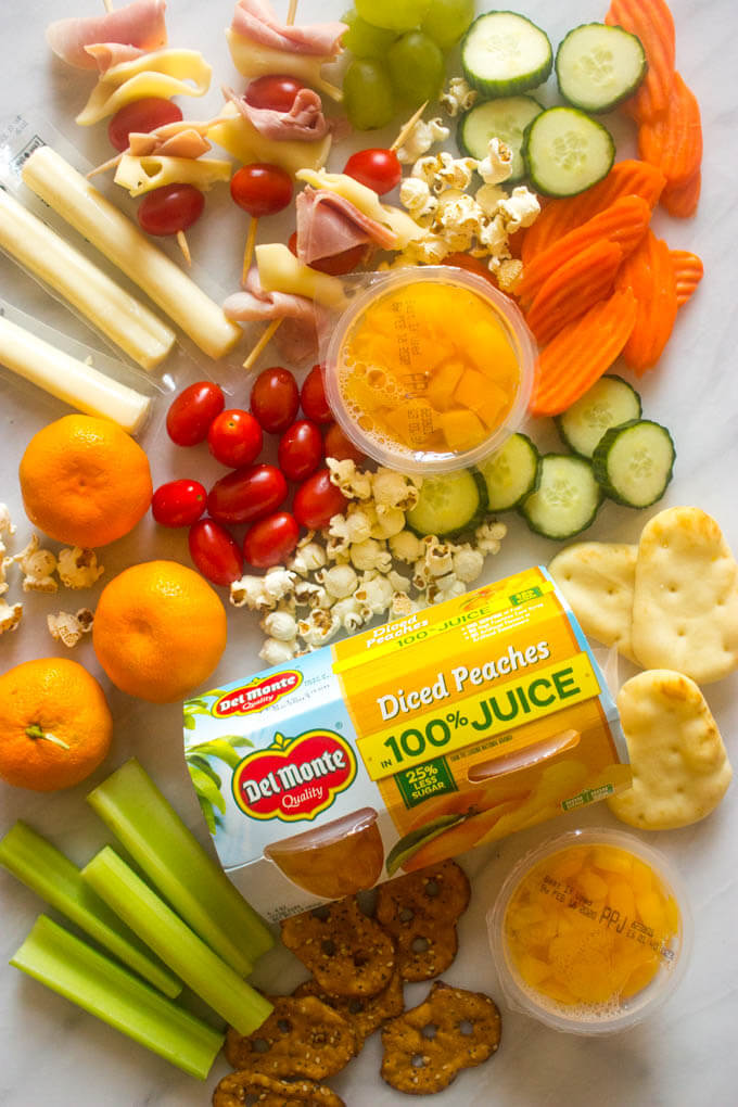 Make ahead lunch ideas and ingredients to make lunches