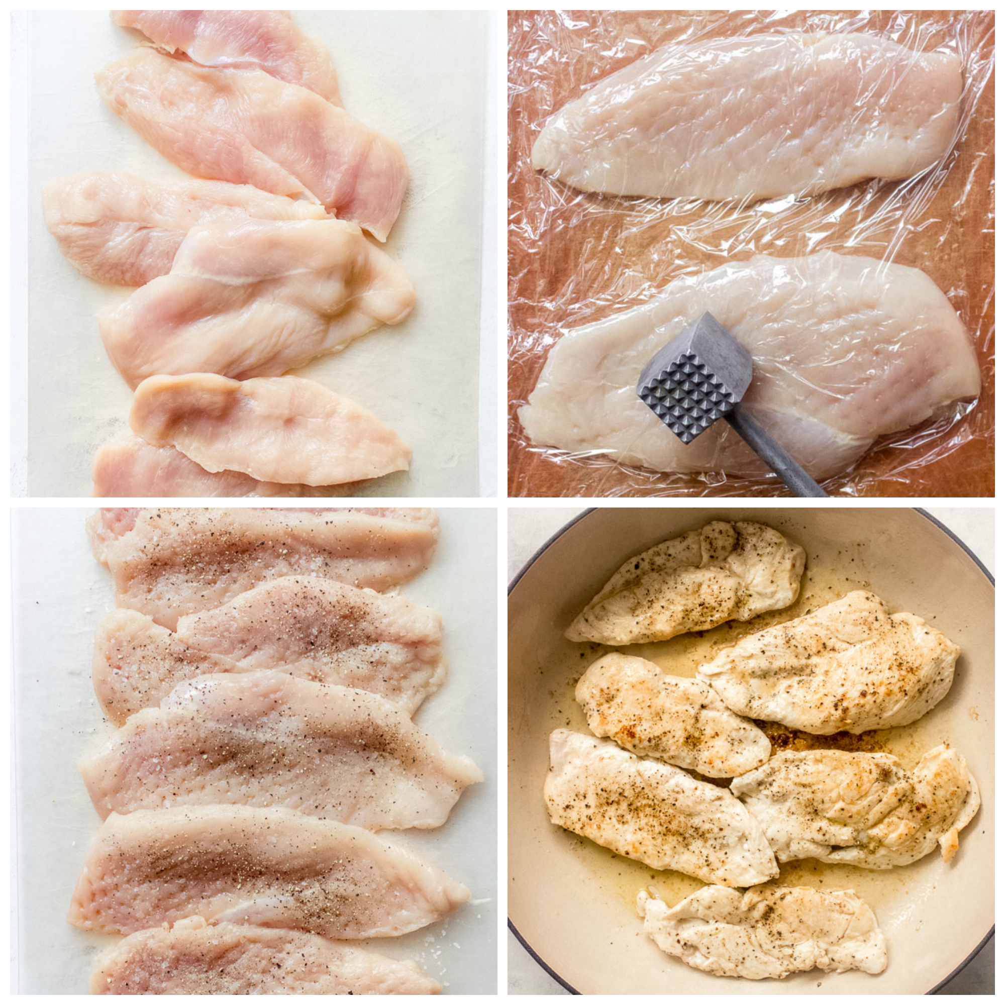 Step by step on how to prepare chicken