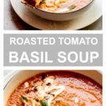 Ina Garten's roasted tomato basil soup