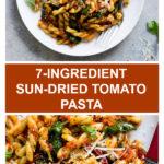 spinach sun dried tomato pasta