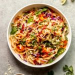 chili garlic rice noodle salad