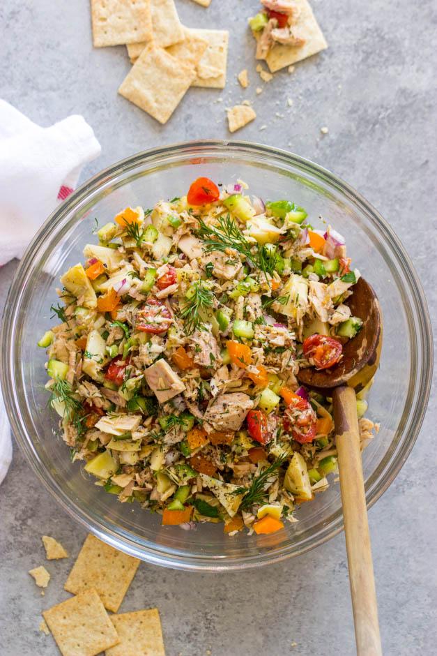 Tuna Salad Recipe Green Pepper