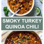 turkey chili with quinoa