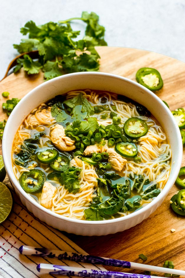 vietnamese chicken pho soup