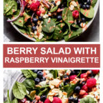 berry spinach salad recipe