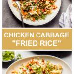 chicken cabbage fried rice