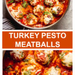 turkey pesto meatball recipe