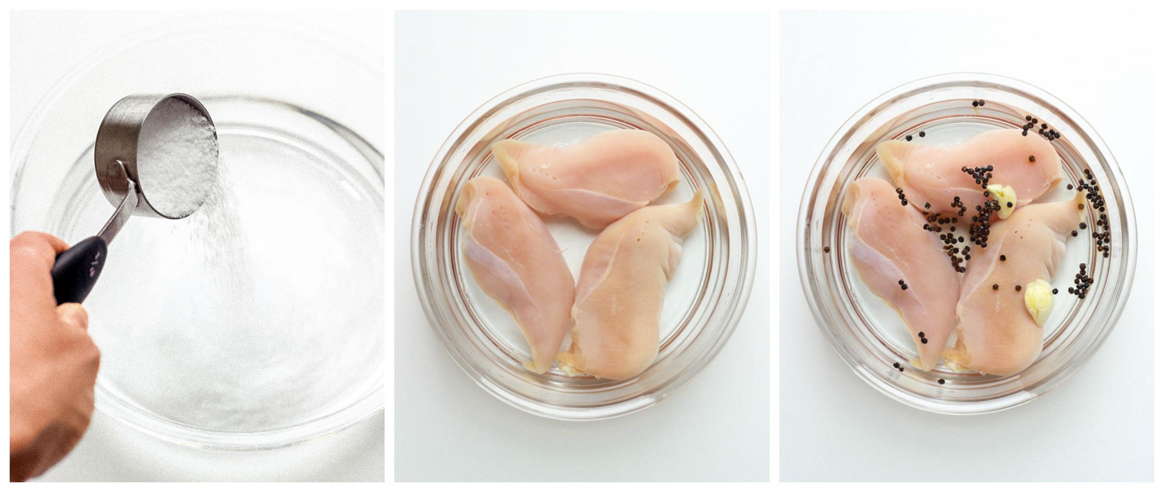 chicken breast in brine