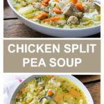 chicken split pea soup recipe with chicken thighs