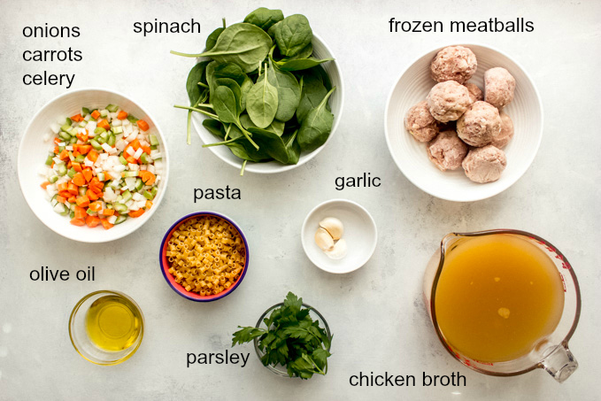 italian wedding soup ingredients
