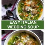 italian wedding soup with frozen meatballs