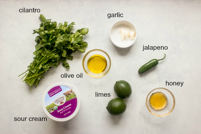 creamy cilantro dressing ingredients