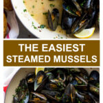 steamed mussels recipe with garlic and parsley