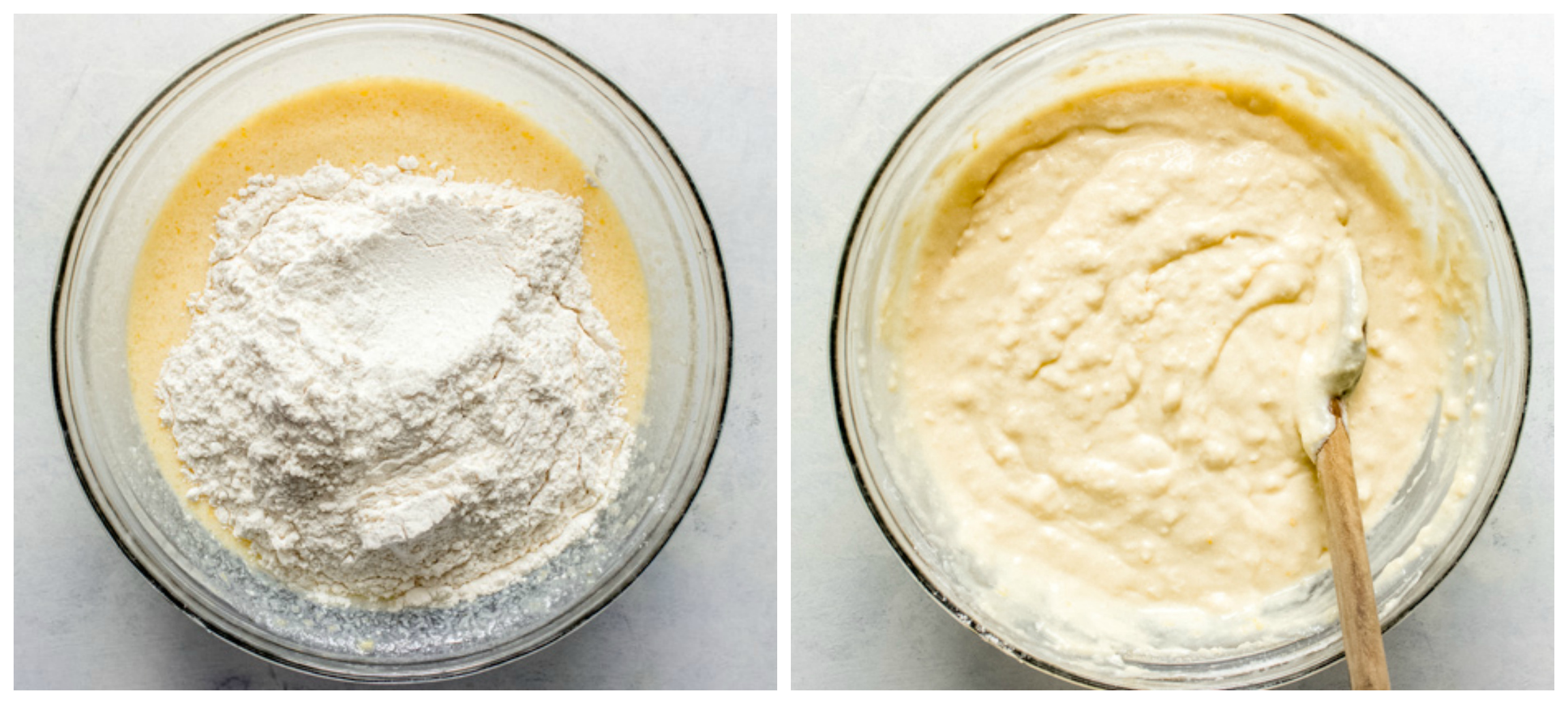 batter for lemon ricotta pancakes