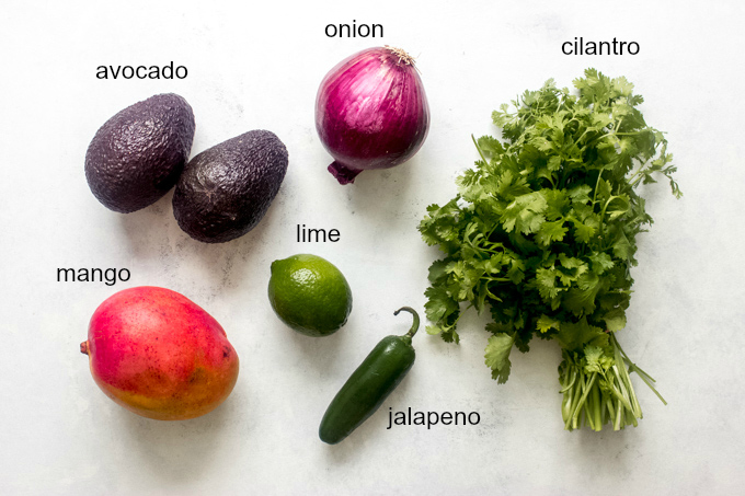 mango guacamole ingredients