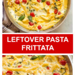 pasta and egg frittata