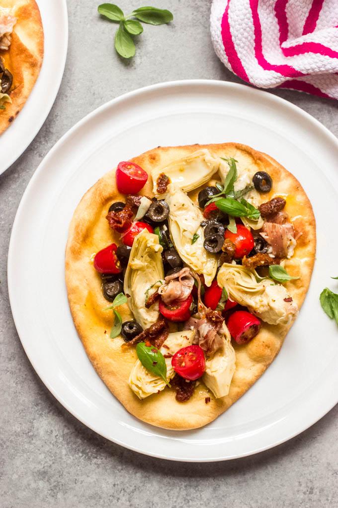 mediterranean flatbread recipe