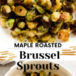 maple brussel sprouts