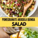 pomegranate quinoa salad recipe