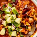 3 bean turkey chili recipe