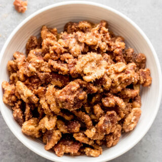 spiced walnuts recipe