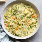cauliflower pilaf rice