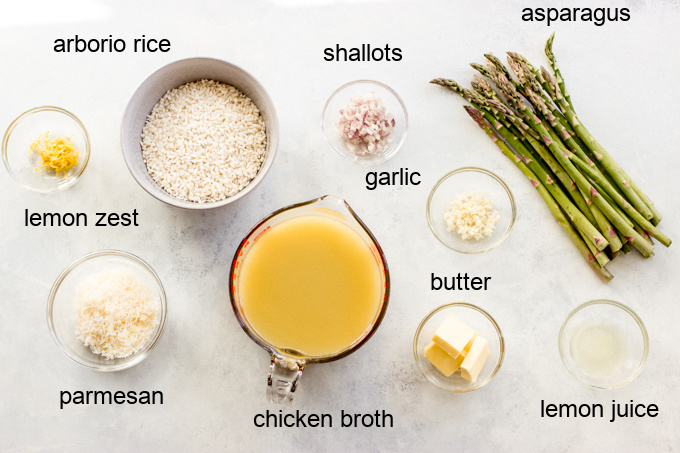 asparagus risotto recipe ingredients