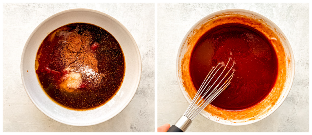 homemade bbq sauce in a bowl