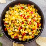 salsa with pineapple and mango