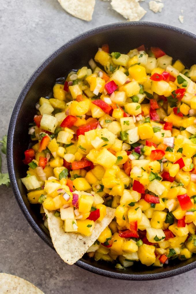 pineapple mango salsa recipe