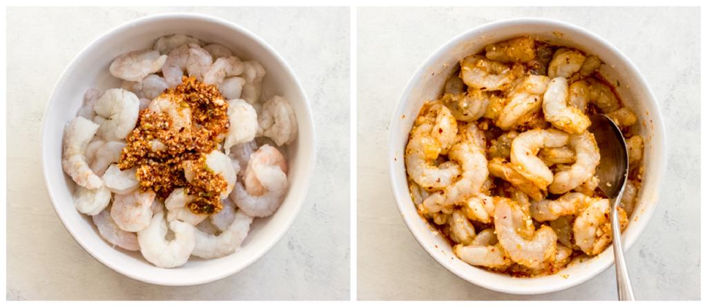 simple garlic shrimp marinade