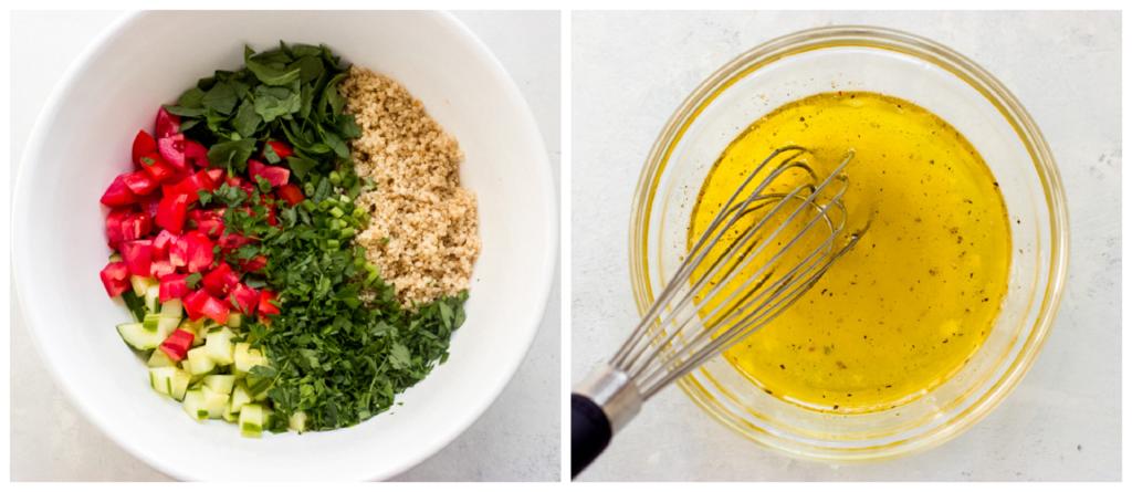 tabbouleh salad in a bowl