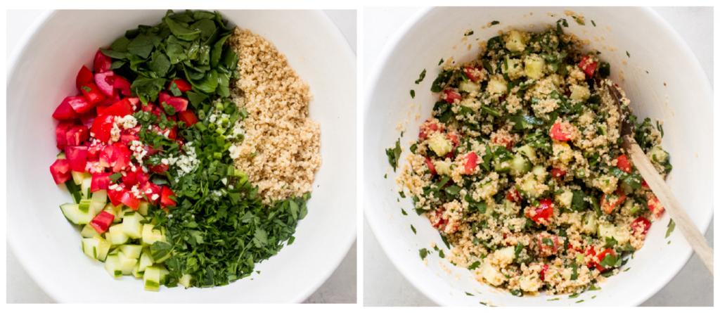 salad recipe in a bowl