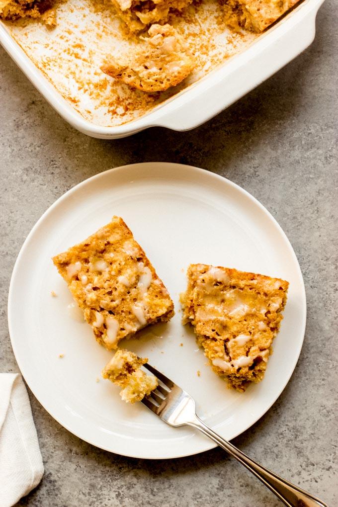 banana oatmeal breakfast bars