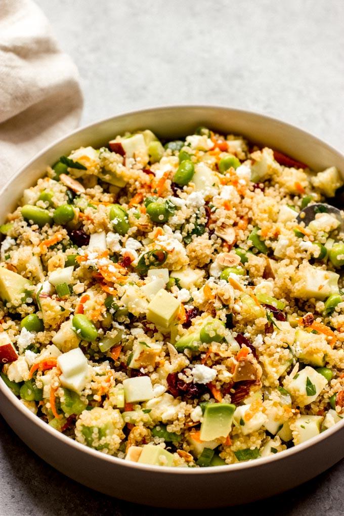 quinoa apple salad recipe